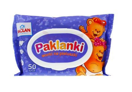 PAKLAN Woreczki na pieluszki Paklanki 50 szt.