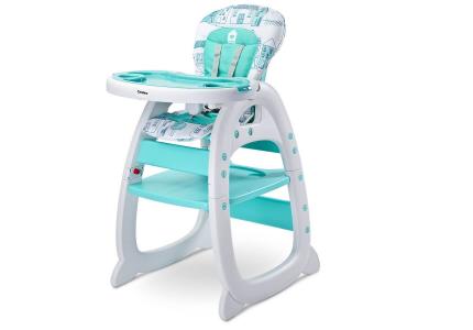 Krzesełko do kamienia 2w1 HOMEE miętowe CARETERO