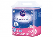NIVEA BABY Chusteczki Fresh&Pure 4x63 3+1 gratis