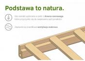 KLUPŚ Łóżeczko RADEK II z szufladą 120x60