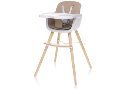 4Baby Krzesełko do karmienia SCANDY beżowe