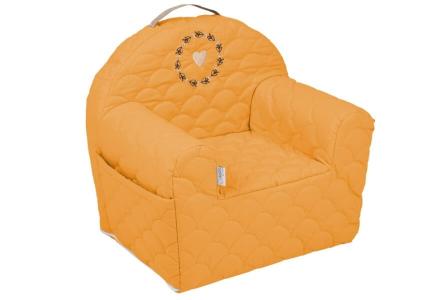 KLUPŚ Fotelik Różowy 50x35x45