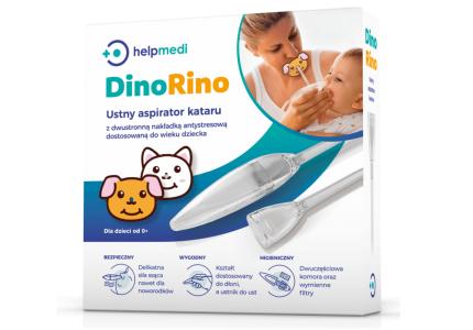 Aspirator dziecięcy ustny kataru DinoRino
