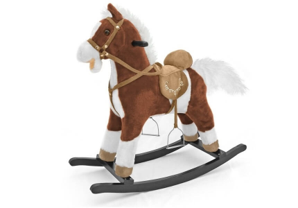 Koń na biegunach ciemno brązowy MUSTANG MILLY MALLY