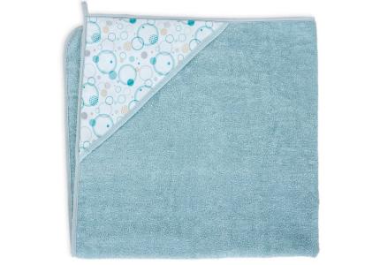 Ręcznik kąpielowy dla niemowląt z kapturkiem frotte 100x100 CEBA BABY