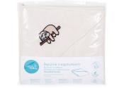 Ręcznik z kapturkiem dla niemowlaka, okrcyie Tencel 100/100 CEBA BABY