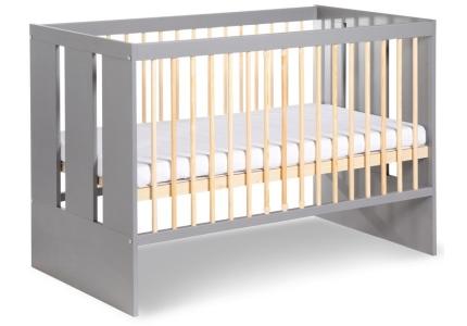 KLUPŚ niemowlęce łóżeczko PAULA grafit
