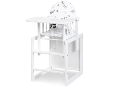 Krzesełko do karmienia z fukcją stoliczka do zabawy LILY KLUPŚ