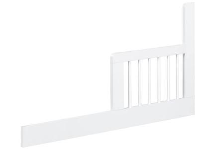 Uniwersalna biała barierka ochronna do łóżeczka dziecięcego KLUPŚ