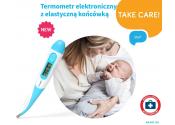BabyOno Termometr elektroniczny z miękką końcówką nr. 118