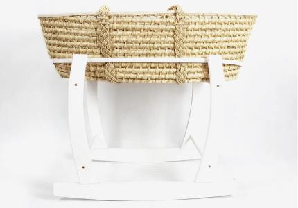 ALBERO MIO Kosz mojżesza kołyska zestaw stojak + kosz + materacyk
