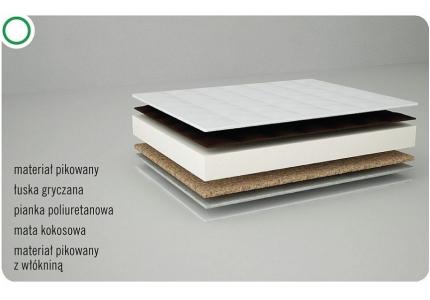 DANPOL materac GRYKA-KOKOS 120x60