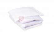 AMY Wypełnienie poduszka + Kołderka jednobarwna 100x135