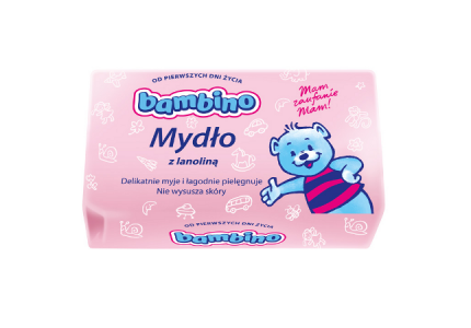 BAMBINO Mydło z lanoliną 90 g