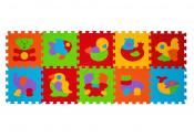 B.O. Puzzle piankowe 10 szt. ZWIERZĘTA