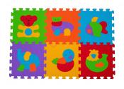 B.O. Puzzle piankowe 6 szt. ZWIERZĘTA