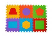 B.O. Puzzle piankowe 6 szt. FIGURY