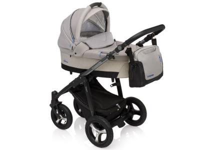 BABY DESIGN Wózek głęboko-spacerowy HUSKY 09 beżowy