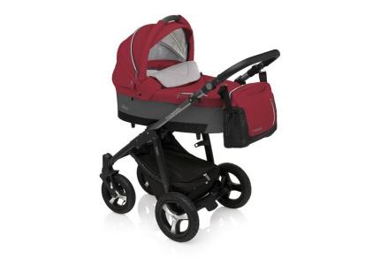 BABY DESIGN Wózek głęboko-spacerowy HUSKY 08 różowy