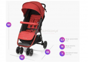 BABY DESIGN CLICK 05 Wózek spacerowy