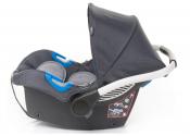 4Baby GALAX Fotelik samochodowy 0-13 kg, szary