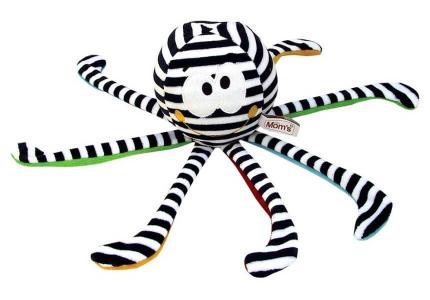 HENCZ Ośmiornica z odgłosami prenatalnymi biało-czarna 964