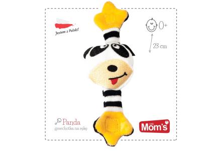 HENCZ Grzechotka na rączkę Panda 070
