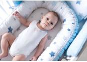 ALBERO MIO gniazdko dla dziecka niebieskie V104
