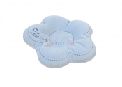 MATEX Poduszka dla niemowląt FLOR niebieska