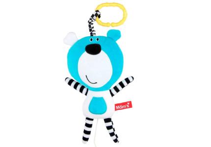 KLUPŚ Okrycie kąpielowe SWEET BEAR H168 niebieski