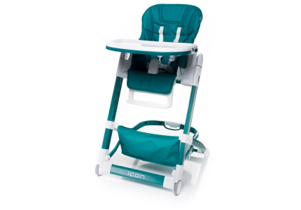 4Baby Krzesełko do karmienia ICON turkusowe