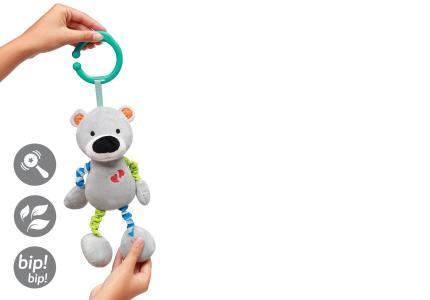 B.O. Zabawka dla dzieci z wibracją BEAR BASIL 618