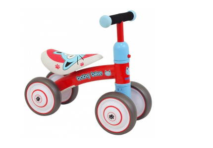 ALEXIS Pojazd dla dzieci BABY BIKE czerwony UR-ET-Z7