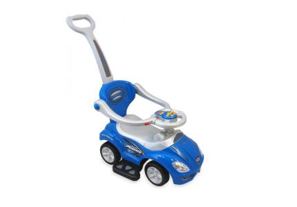 ALEXIS Pojazd dla dzieci 2w1 niebieski UR-Z382