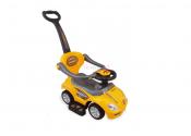 ALEXIS Pojazd dla dzieci 2w1 żółty UR-Z382