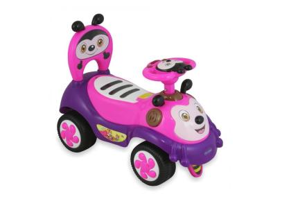 ALEXIS Pojazd dla dzieci PSZCZOŁA różowa UR-7625
