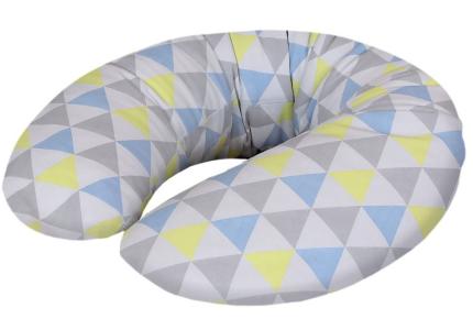 CEBA Cebuszka PHYSIO Mini dżersej Trójkąty niebiesko-żółte 702-700-533