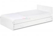 KLUPŚ białe łóżeczko kompakt 3w1 łóżeczko+komoda+sofa