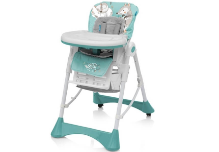 BABY DESIGN Krzesełko do karmienia PEPE