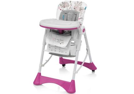 BABY DESIGN Krzesełko PEPE 08 pink