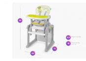 BABY DESIGN Krzesełko CANDY NEW 05