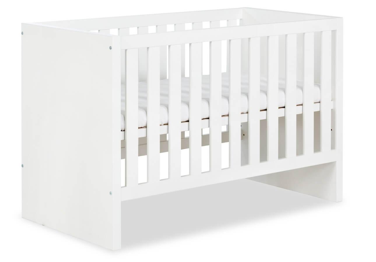 Białe łóżeczko Klupś Amelia