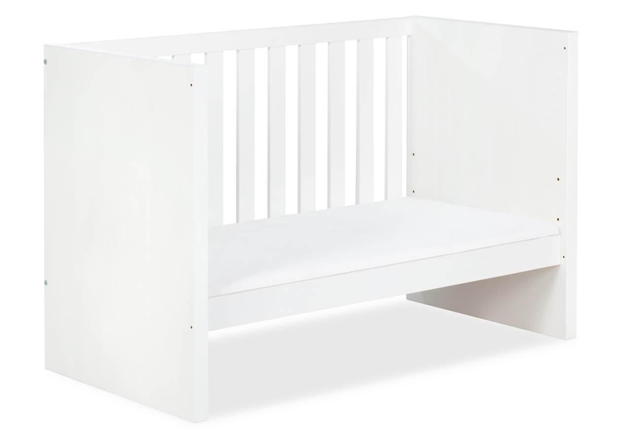 Łóżeczko białe Klupś Amelia