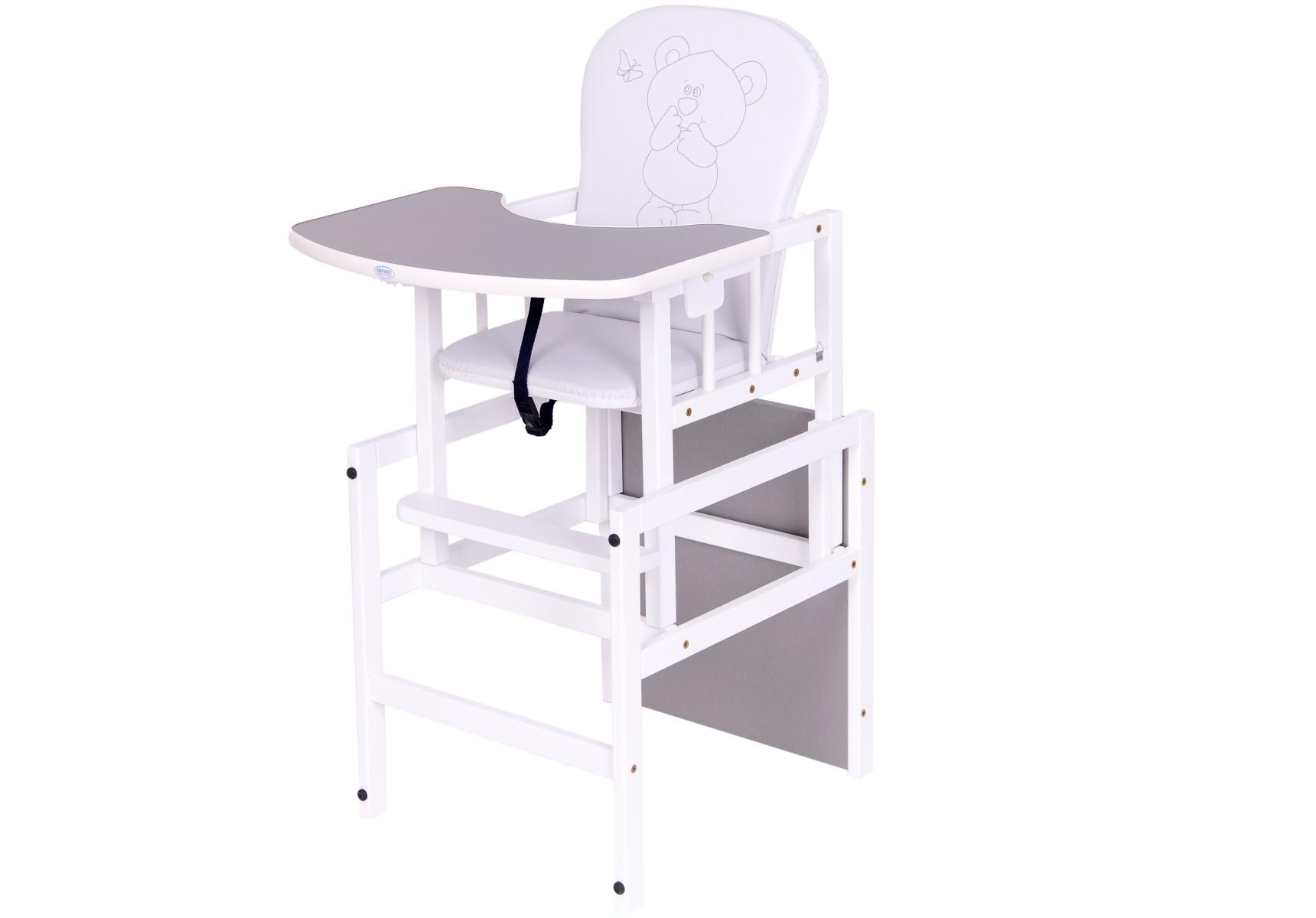 krzesełko drewex antoś miś i motylek